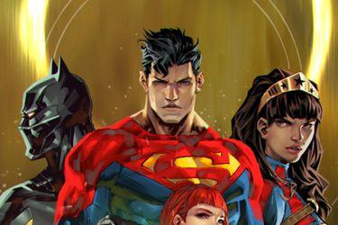 DC Comics reveló otro vistazo a la nueva Liga de la Justicia de Future State