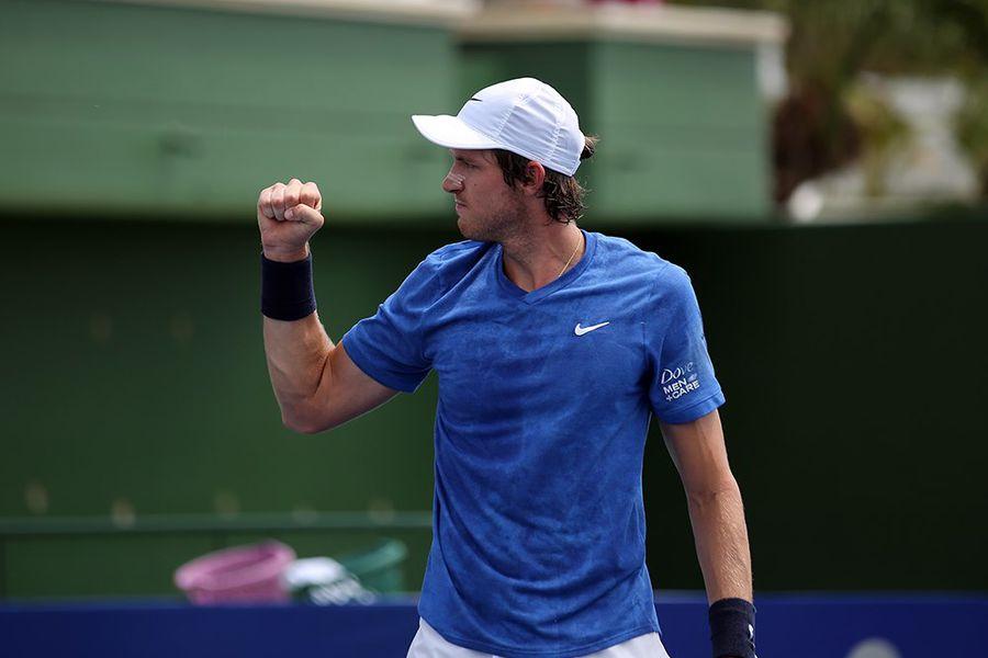 Nicolás Jarry avanzó a los cuartos de final del Challenger de Salinas, Ecuador.