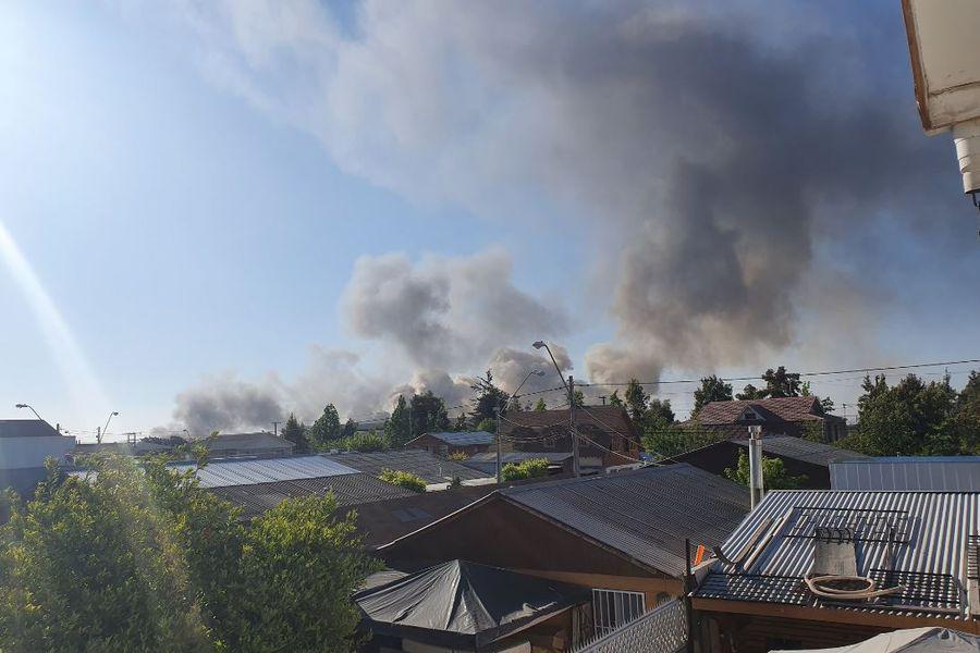 Incendio La Pintana