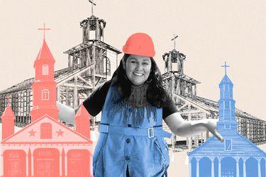 """Arquitecta de Chiloé, Macarena Almonacid: """"El chilote se siente menos por no haber tenido educación formal, pero acá hay una fuente inagotable de conocimiento"""""""