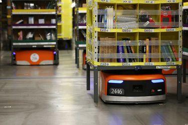 Los almacenes con robots de Amazon tendrían mayores tasas de lesiones que otros centros logísticos
