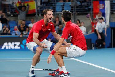 Djokovic comanda el título de Serbia en la ATP Cup