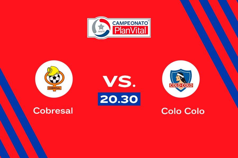 En vivo: Cobresal vs. Colo Colo, por el Campeonato Nacional.