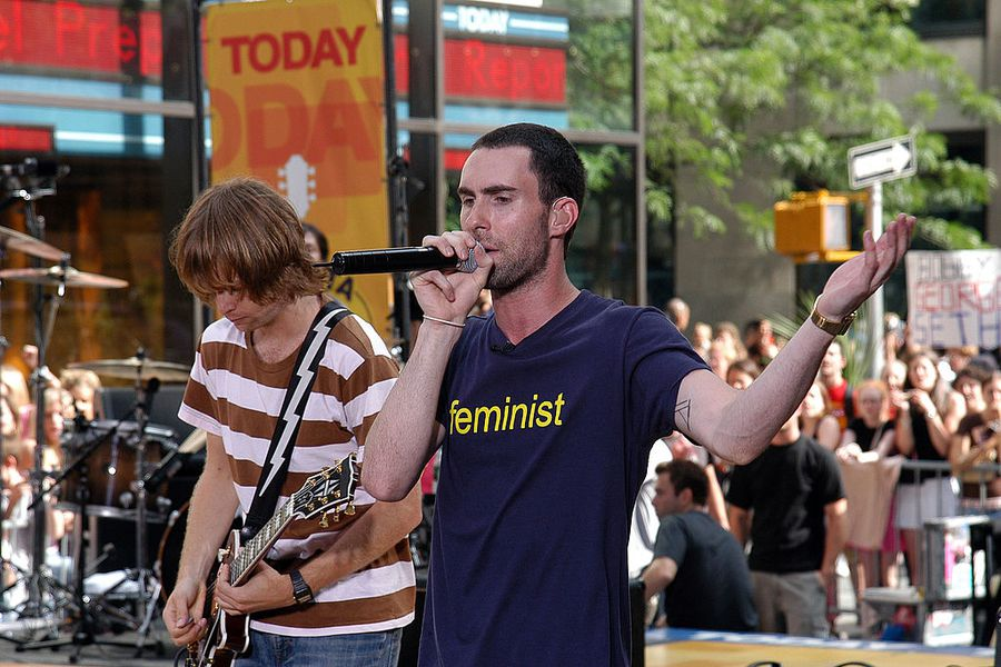 2004 Toyota Concert Series On The Today Show With Maroon 5