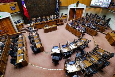 Senado continuó análisis del veto presidencial al proyecto que crea el Servicio de Protección a la Niñez