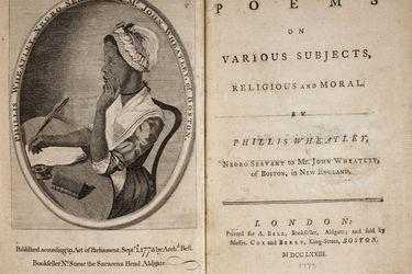 Phillis Wheatley: la joven esclava que irrumpió en la literatura universal