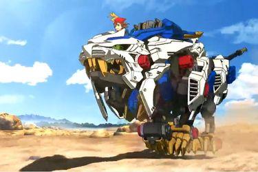 Liberan primeros 5 minutos del nuevo anime de Zoids