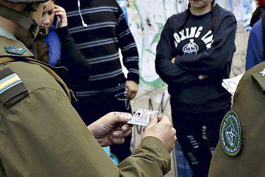 Controles de identidad suben solo un 13% tras creación de fiscalización preventiva