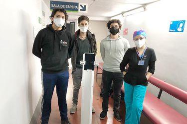 Pudú: el robot que permite a pacientes internados por Covid-19 contacto con su familia y personal médico