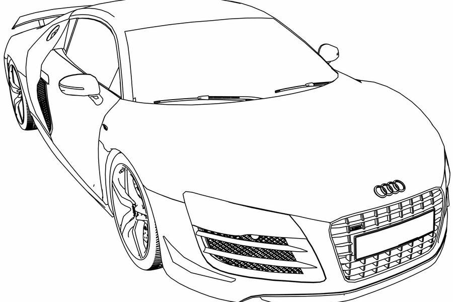 Audi Piensa En Los Ninos Y Lanza Libro Para Colorear La Tercera