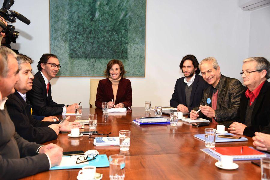 Reunión entre la ministra Marcela Cubillos y el Colegio de Profesores