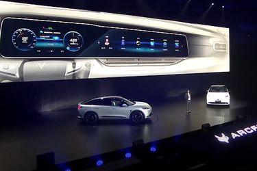 Huawei presenta su primer auto eléctrico junto a BAIC