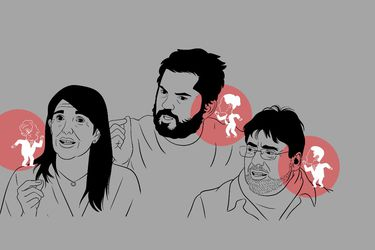 Los orejeros de Narváez, Boric y Jadue