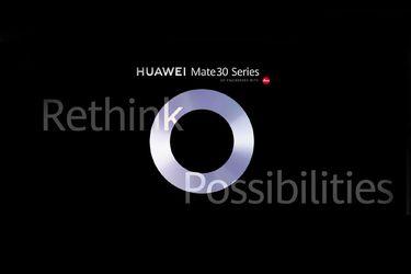 Sigue acá el lanzamiento de la línea Mate 30 de Huawei