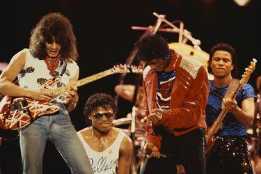 Insultos por teléfono y cerveza: Eddie Van Halen en una canción de Michael Jackson