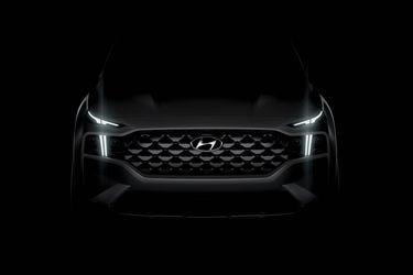 Hyundai adelanta la primera imagen del nuevo Santa Fe