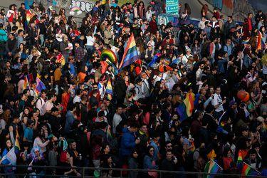 Organizadores cifran en 100 mil los asistentes a la Marcha del Orgullo en Santiago