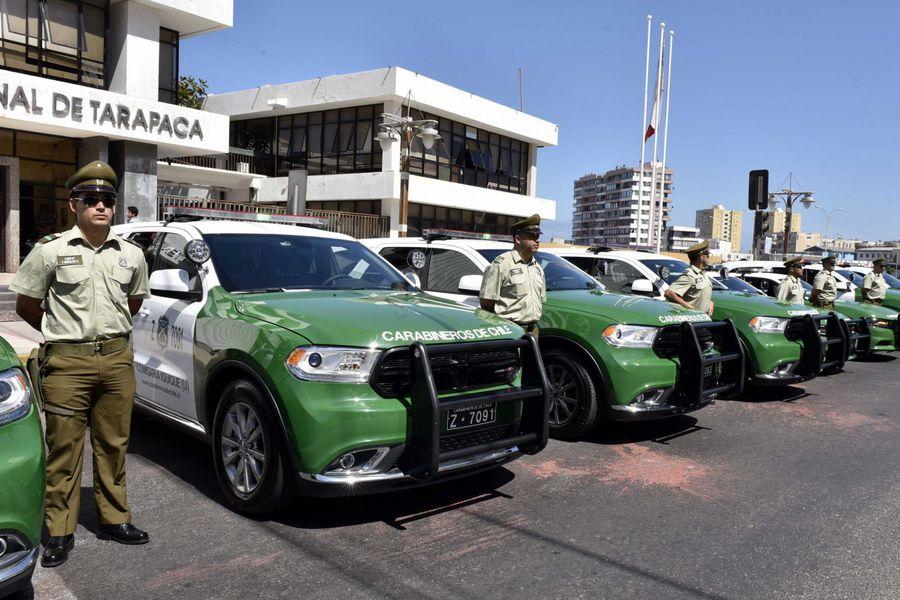 Vehículos policiales Dodge Durango de Carabineros de Chile