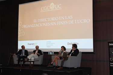 Seminario analizó rol de los gobiernos corporativos en las ONG