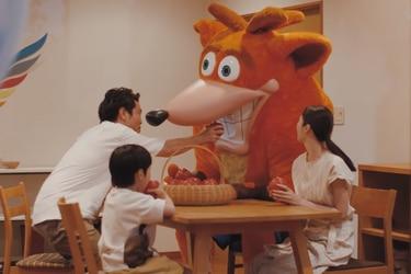El corpóreo de Crash Bandicoot regresa en Japón con un extraño tráiler