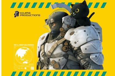 Kojima Productions ahora promociona una compañía de delivery en Japón