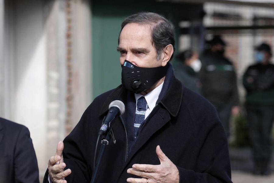 Hernán Larraín, ministro de Justicia