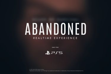 Publican nueva imagen de Abandoned y los rumores de que está relacionado con Kojima vuelven a surgir