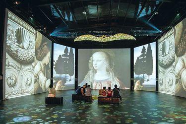 Da Vinci se suma al auge de las muestras de arte inmersivo