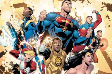 Es oficial: DC enfrentará a la Liga de la Justicia y la Legión de Super-Héroes en enero