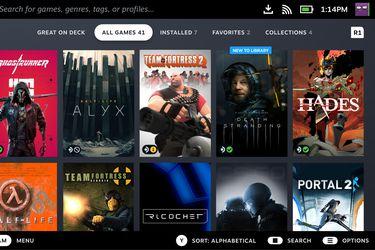 Steam está revisando todos sus juegos para ver la compatibilidad con Steam Deck
