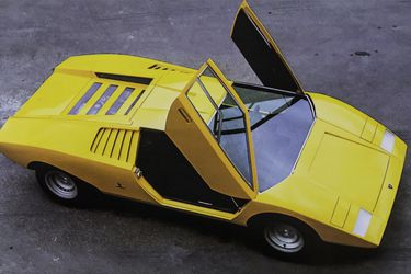 El Lamborghini Countach LP 500 celebra medio siglo de vida