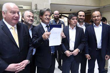 Diputados de la Comisión Hacienda