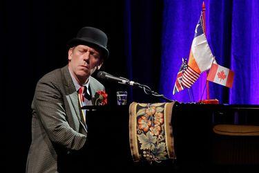 Recital Hugh Laurie nota actores música