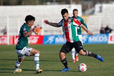 Palestino acumula tres triunfos consecutivos sobre Wanderers