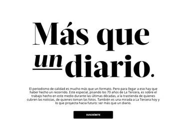 Más que un diario: La Tercera recibe premio internacional por su especial de lanzamiento de la suscripción digital