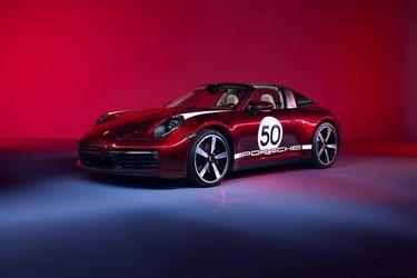 Una preciada cereza: Porsche devela el 911 Targa 4S Heritage Design, homenaje a la tradición