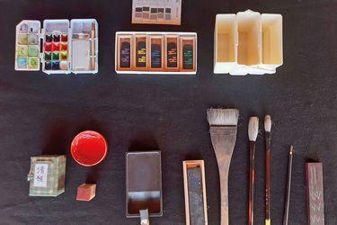 Desde Chiloé: El arte de  la tinta japonesa