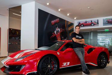 Hites volverá a competir en un Ferrari en 2021