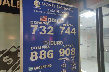 Dólar anota en Chile su mayor alza en tres semanas y se instala en máximos desde principios de febrero