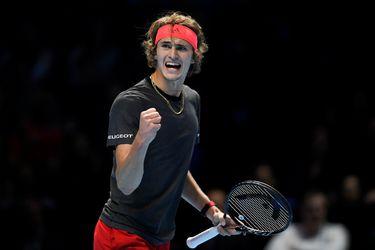 Un sólido Zverev pasó por encima de Djokovic para quedarse con el Masters de Londres