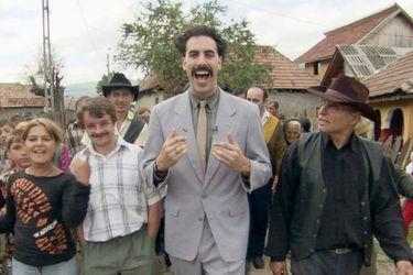 Amazon pagó $80 millones de dólares para quedarse con Borat 2
