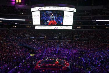 """""""Era todo para mí"""": familiares, basquetbolistas y seguidores homenajean a Kobe Bryant"""