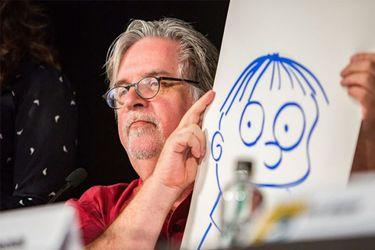 El masaje que complica a Matt Groening