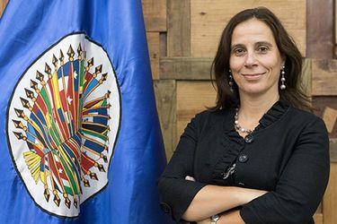 """Antonia Urrejola, presidenta de la CIDH: """"En Nicaragua se requieren medidas urgentes para poner fin a la represión"""""""