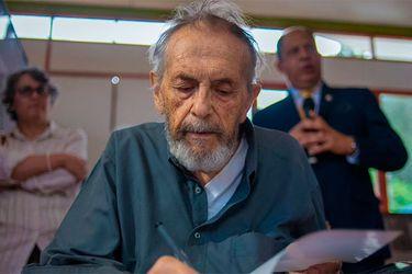 Julio Escámez, el exiliado del sur