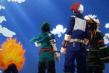 Deku, Bakugo y Todoroki llegan a la agencia de Endeavor en el tráiler para el próximo arco del anime de My Hero Academia