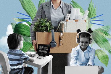"""Apostar por la crianza antes que la vida laboral: """"Tuve que parar la máquina para estar realmente en la casa y no ser un holograma de mamá"""""""