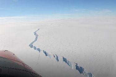 Nuevas imágenes satelitales muestran el colosal desprendimiento de un iceberg en la Antártica