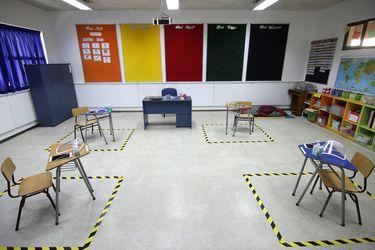 Por grupos y con los 3° y 4° medios: así planean el regreso los colegios