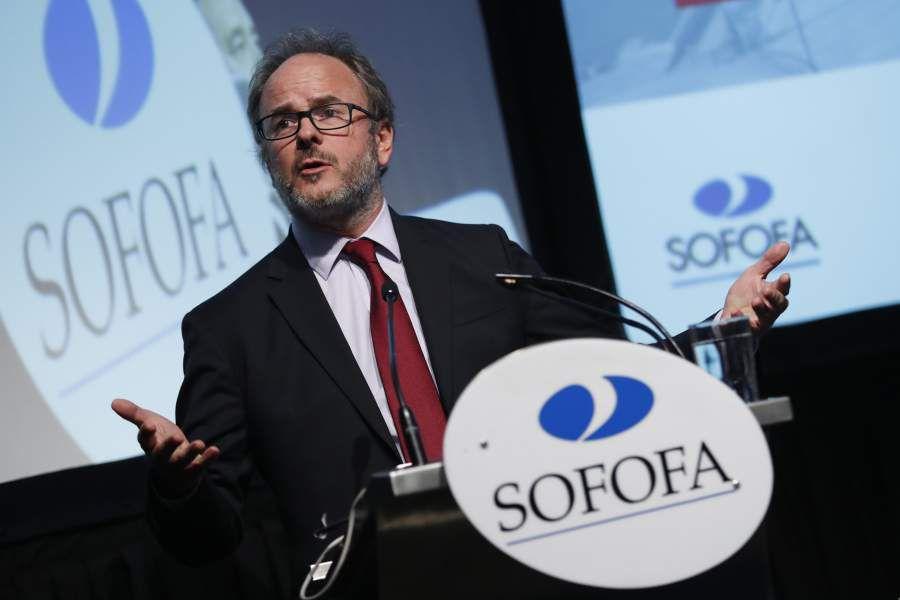 Alejandro Guillier particpo de Ciclo de Diálogos SOFOFA UDP
